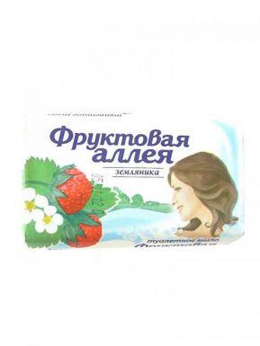 Фруктовая аллея Мыло 90г Земляника