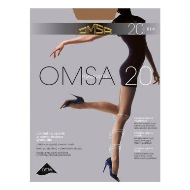 Колготки женские Omsa 20, daino, р. 2/S