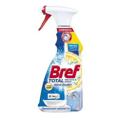 BREF Средство чистящее Total Анти-Налет Лимонная Свежесть 500мл