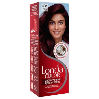 Londa Color стойкая крем-краска, тон для волос, тон 5/46 Рубин
