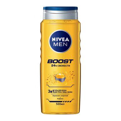 NIVEA Гель д/душа мужской BOOST 500мл/92847