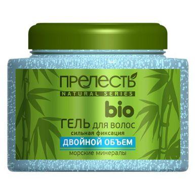 Прелесть Bio гель для укладки волос сильной фиксации с экстрактом морских минералов, 250 мл