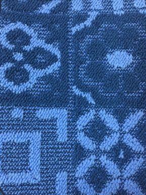 Коврик Shahintex Loop Italiano 50x100 см, синий, артикул: 452435