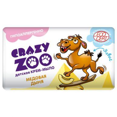 ВЕСНА Крем-мыло Crazy Zoo 90г Медовая дыня