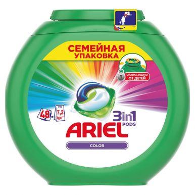 ARIEL Капсулы для стирки Color 48шт__