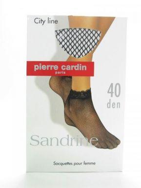 Pierre Cardin  носки SANDRINE 40 (сетка) цвет NERO