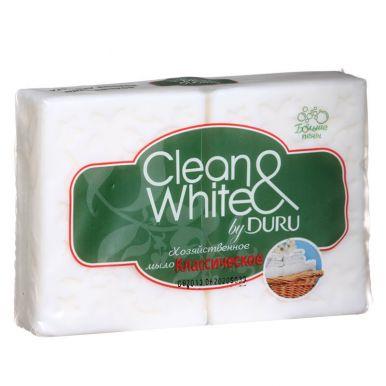 DURU мыло хозяйственное 2шт*125г WHITE/24936/а16100