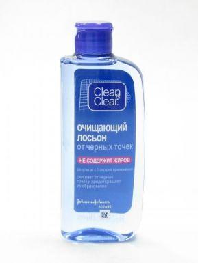 J&J Clean&Clear Очищающий лосьон от черных точек 200мл