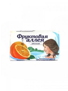 Фруктовая аллея Мыло 90г Апельсин