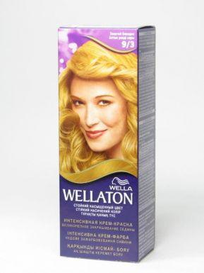 WELLATON SINGL крем-краска №9/3 золотой блондин