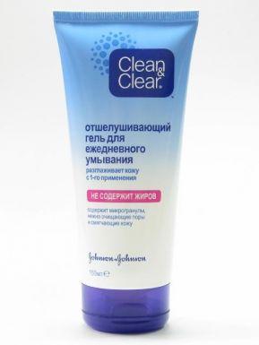J&J Clean&Clear Отшелушивающий гель для ежедневного умывания 150мл_