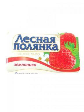 ЛЕСНАЯ ПОЛЯНКА туалетное мыло ЗЕМЛЯНИКА 90г/1714