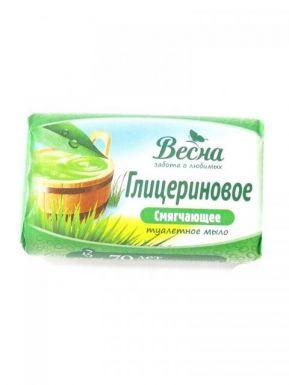 ВЕСНА туалетное мыло ГЛИЦЕРИНОВОЕ 90г