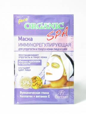 Organic Spa маска иммунорегенирирующая, 15 мл