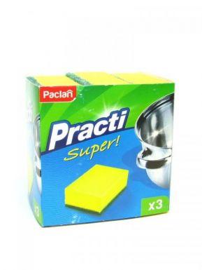 PACLAN губки для посуды 3шт. / 5