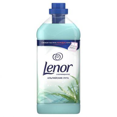 Lenor кондиционер для белья концентрат 2 л, Хлопок Альпийские луга