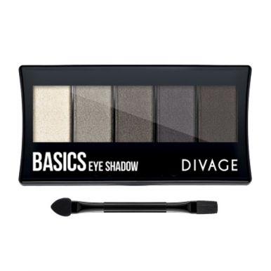 Divage палетка тени для век Palettes Eye Shadow Basics