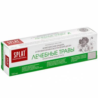 SPLAT Prof. з/паста 100 мл MEDICAL HERBS