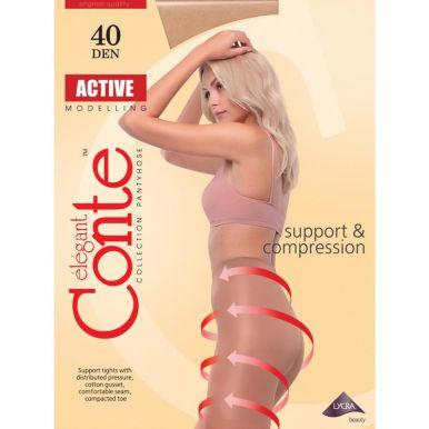 CONTE Колготки  ACTIVE 40 цвет NATURAL р.5