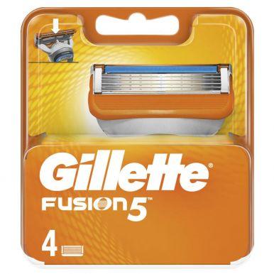 GILLETTE кассеты FUSION, 4 шт