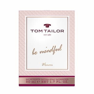 Tom Tailor Туалетная вода BE MINDFUL Woman EdT 50 ml