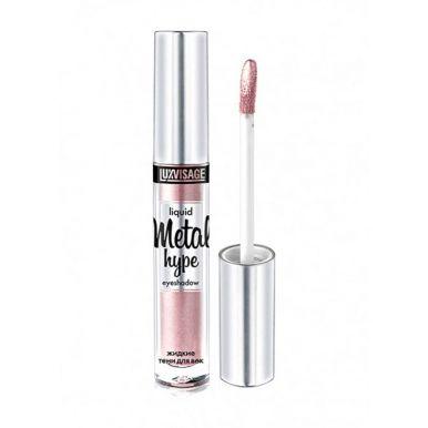 Luxvisage жидкие тени для век Metal hype, 3 гр, тон 9, розовый иней