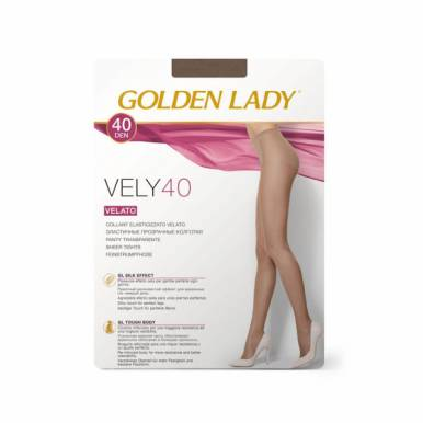 Колготки женские Golden Lady VELY 40 den, daino, размер: 3/M