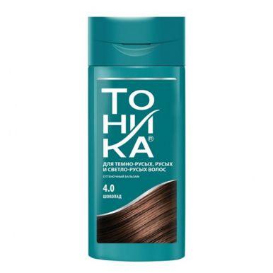 РоКОЛОР оттеночный бальзам для волос Тоника, тон 4,0, цвет: Шоколад