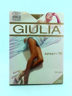 Колготки женские Giulia INFINITY 70 daino gul, 5/XL