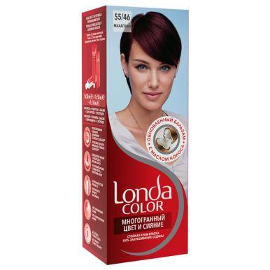 Londa Color стойкая крем-краска, тон для волос, тон 55/46 Махагони