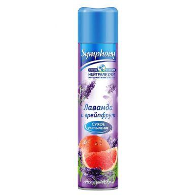 Symphony освежитель воздуха лаванда и грейпфрут, 300 мл