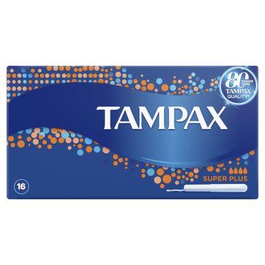 TAMPAX тампоны 16шт SUPER PLUS TM373/360/222