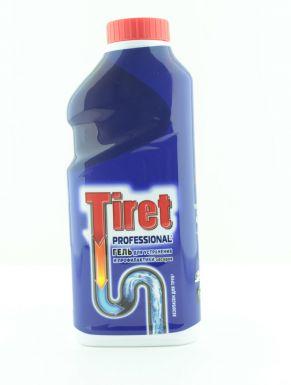 TIRET PROFESSIONAL гель для очистки труб 500мл
