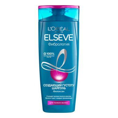 Elseve шампунь Фибрология, для волос, лишенных густоты, 400 мл