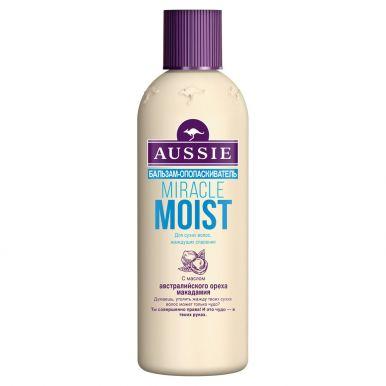 AUSSIE Бальзам-ополаскиватель Miracle Moist для сухих/поврежденных волос 250мл/439