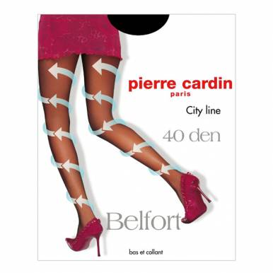 Pierre Cardin колготки BELFORT 40 р.2 цвет NERO