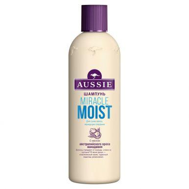 AUSSIE Шампунь Miracle Moist для сухих/поврежденных волос 300мл/425