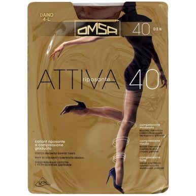 Omsa колготки Attiva 40 р.5 цвет CARAMELLO