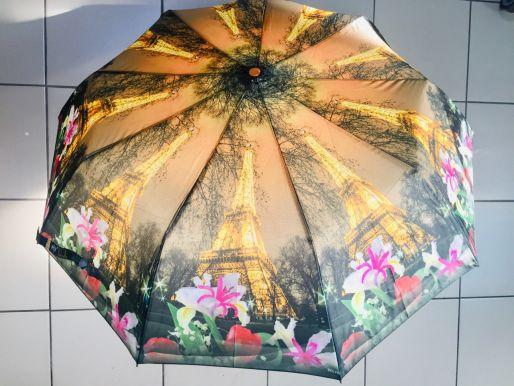 Зонт женский d=110см полуавтомат микс арт.SASP8045