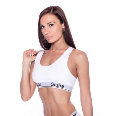 Топ женский Giulia Cotton, bianco, р.M
