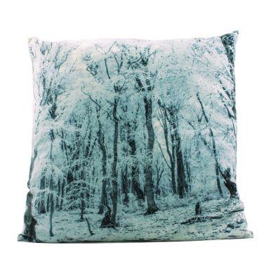 CAL201540 подушка декоративная, из вельвета (100% полиэстер), разм. 45x45cm, с фото принтом в ассорт