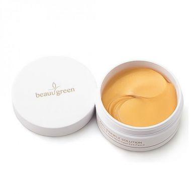 BeauuGreen  Патчи для глаз Collagen & Gold Hydrogel в банке 60шт \