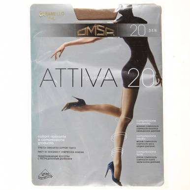 Omsa колготки Attiva 20 р.3 цвет DAINO