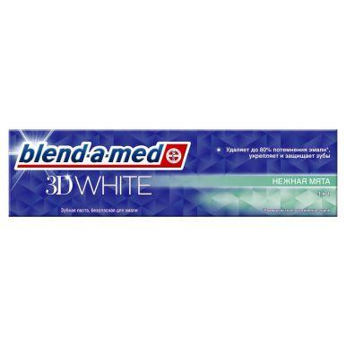 BLEND_A_MED з/паста 3D WHITE Нежная мята 100мл (644/391/619)