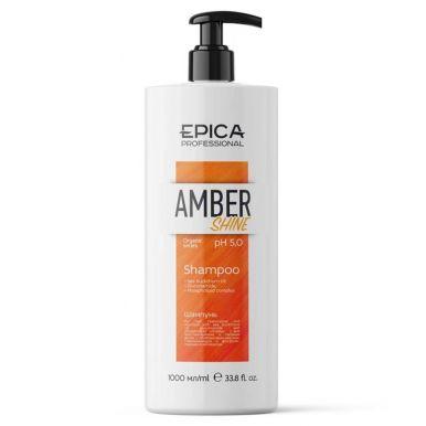 EPICA AMBER SHINE Шампунь восстановление и питание с облепиховым маслом 1000мл.