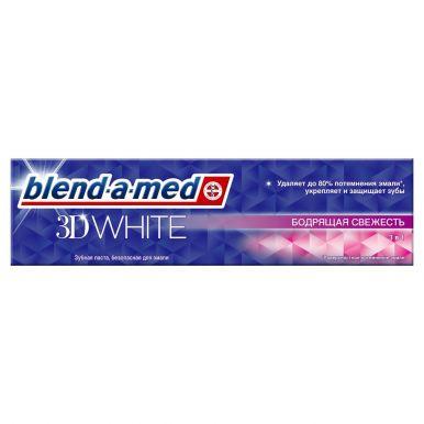 BLEND_A_MED з/паста 3D WHITE Бодрящая Свежесть 100мл (389/239/621)