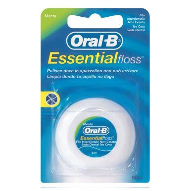 ORAL-B Зубная нить Essential Floss невощенный 50м