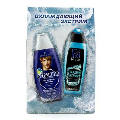 FA MEN Набор подарочный  Охлаждение Экстрим + SCHAUMA  Для мужчин с хмелем