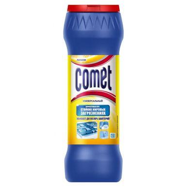 COMET Чистящий порошок с дезинфиц.свойствами 475г Лимон (банка) CT687