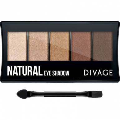 Divage Палетка тени д/век Palettes Eye Shadow Natural